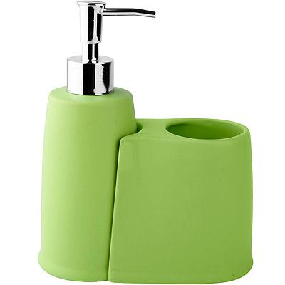 GALZONE-Bath-牙刷架給皂器組-綠