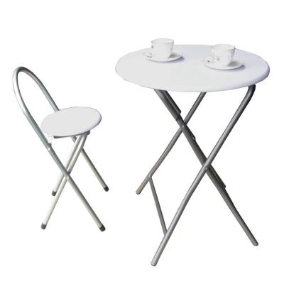 頂堅耐重型折疊桌椅組(1桌1椅) / 二色