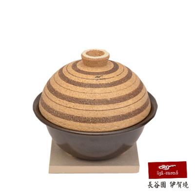 日本長谷園伊賀燒 陶珍輕巧多功能鍋