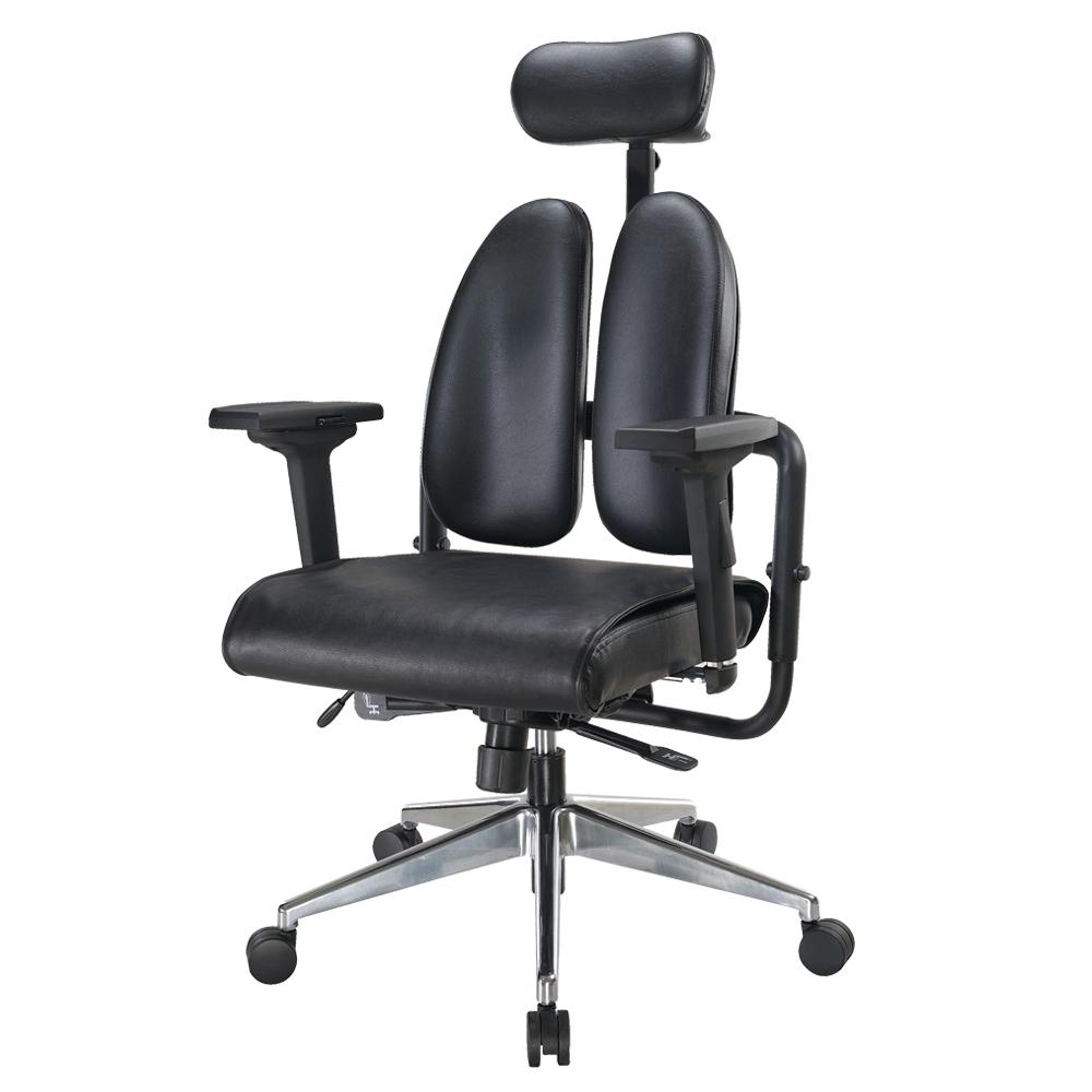 Boden-德國專利雙背多機能皮面電腦椅-70x70x110~120cm