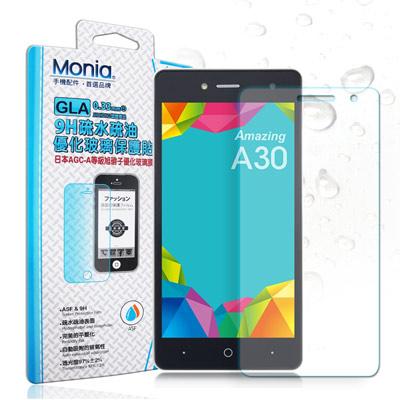 MONIA TWM Amazing A30 日本頂級疏水疏油9H鋼化玻璃膜