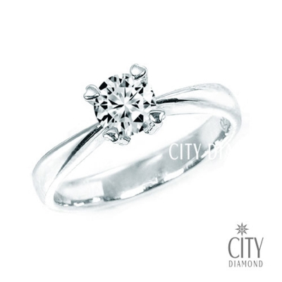 City Diamond『我的寶貝』31分鑽戒