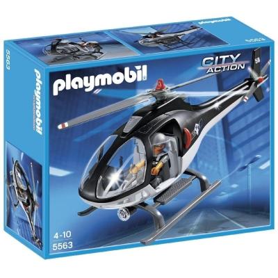 playmobil CITY ACTION系列  機動部隊直升機