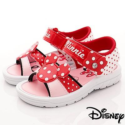 迪士尼童鞋 米妮點點涼鞋款 FO63802紅 (中小童段)