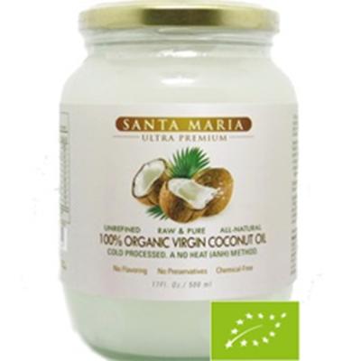 Santa Maria 有機冷壓椰子油(500ml)