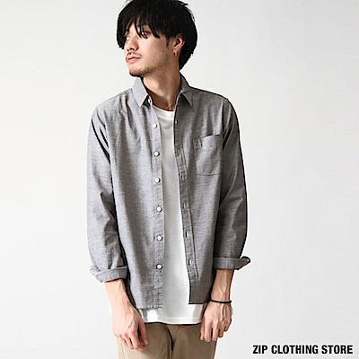 基本款標準領長袖襯衫(8色) ZIP日本男裝