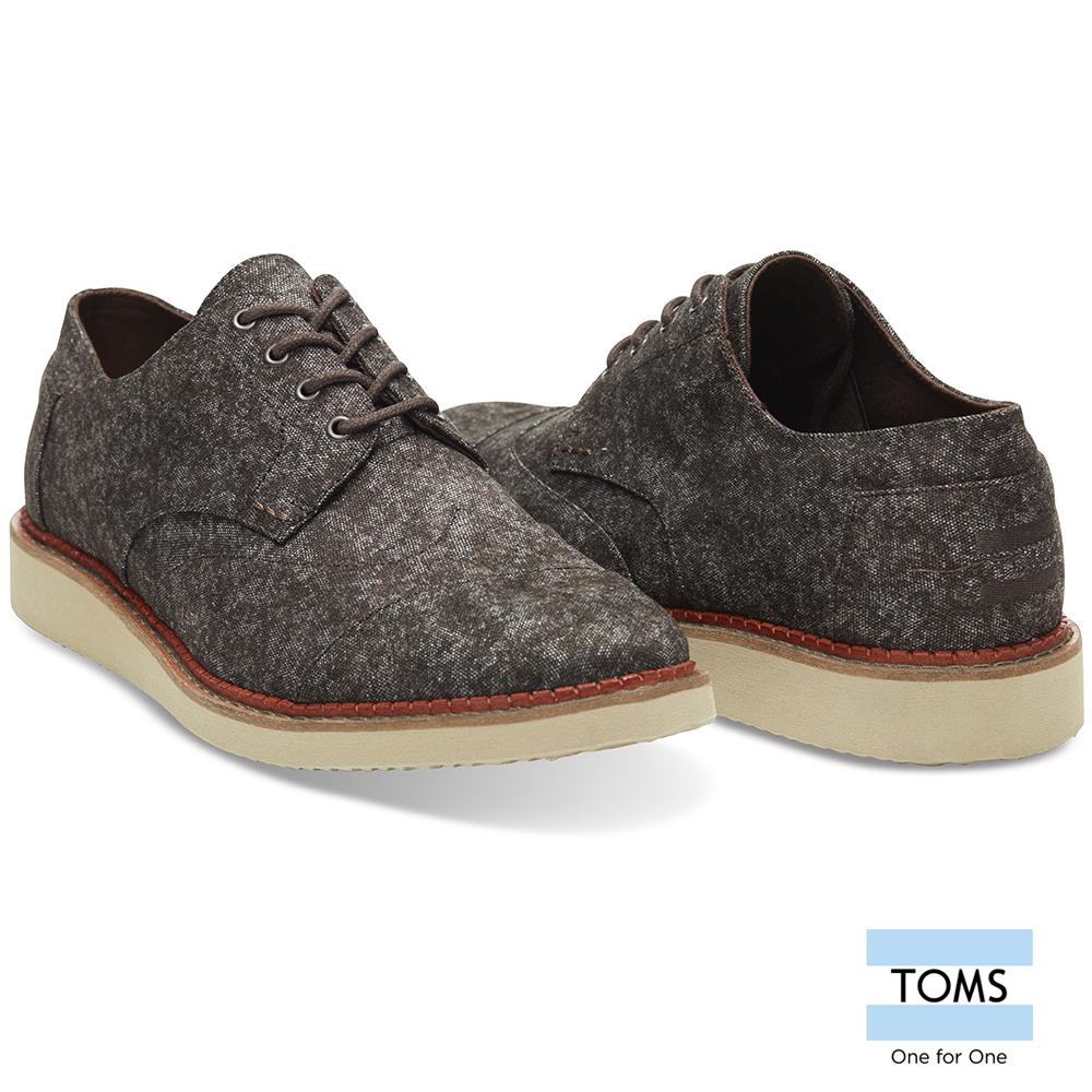 TOMS多色混紡牛津鞋-男款