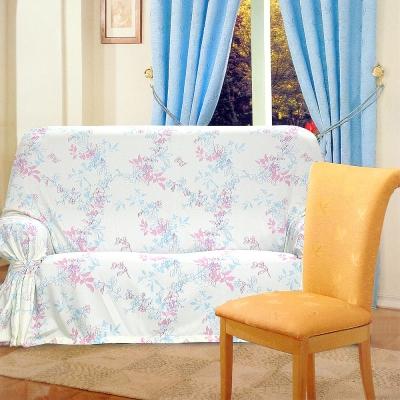 布安於室-幽亞花DIY3人座一片式沙發罩
