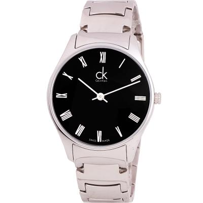 Calvin Klein ck Classic 極簡文雅羅馬不鏽鋼腕錶-32mm