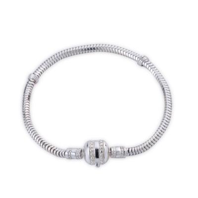 YUME Beads-滾珠款純銀手鍊(19cm)