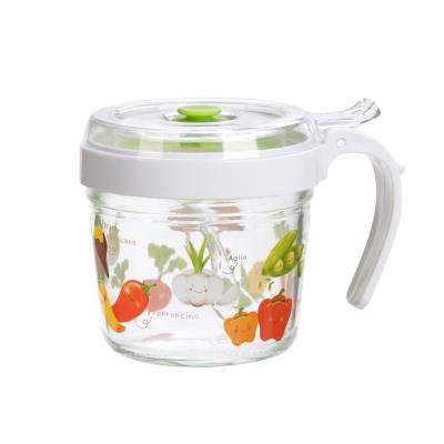 綠果園玻璃密封調味罐