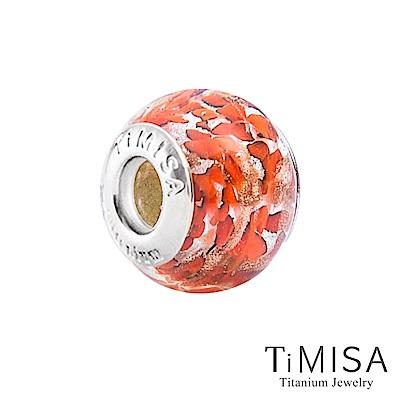 TiMISA 絢麗(11mm)純鈦琉璃 墜飾串珠