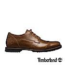 Timberland 男款中咖啡色粒面Kendrick淺口鞋