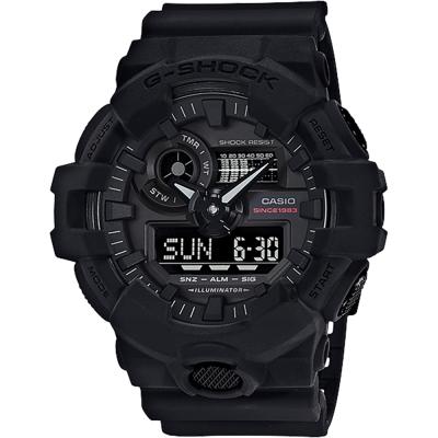 CASIO卡西歐G-SHOCK 35周年紀念錶款宇宙大爆炸雙顯錶57.5mm