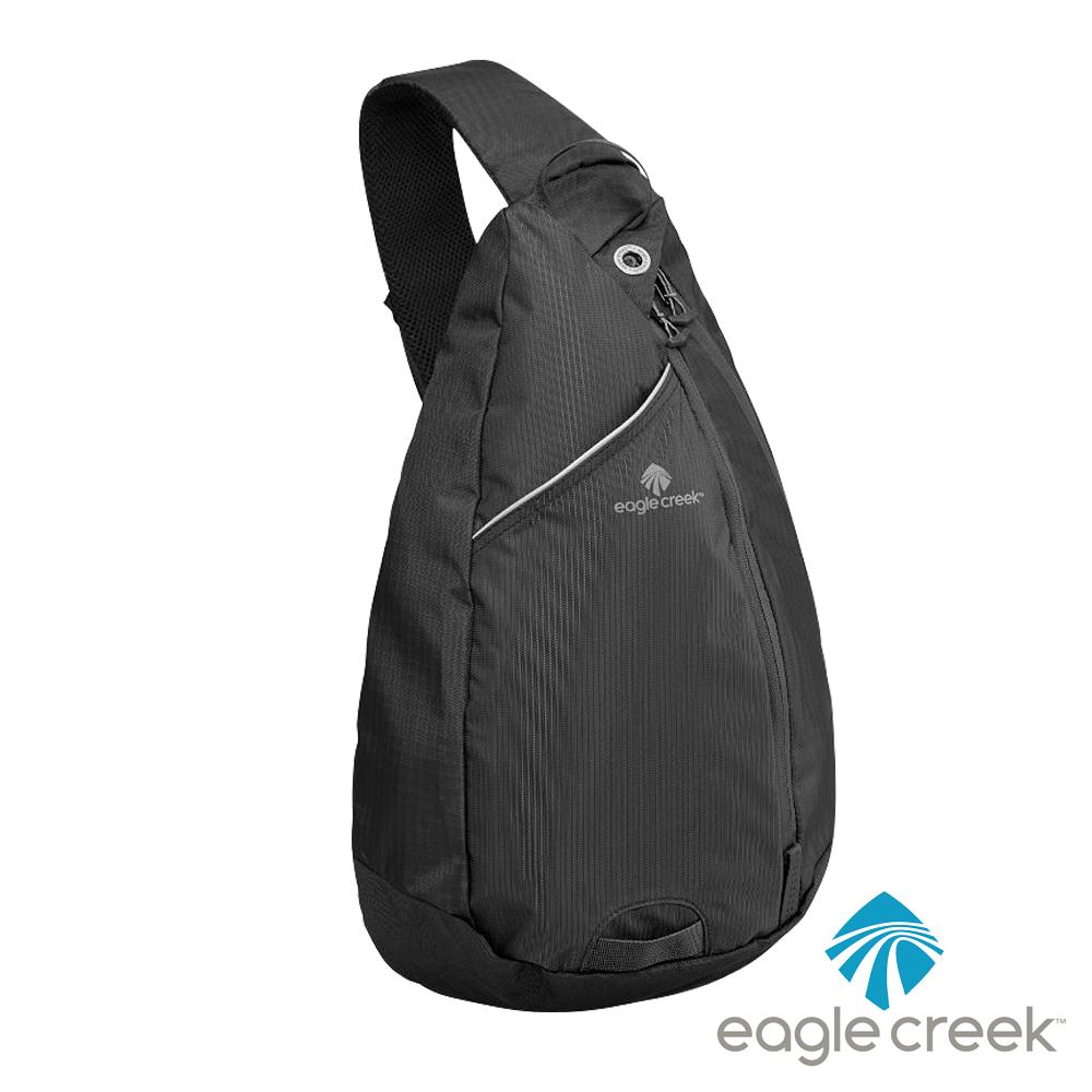 美國Eagle Creek RFID防搶輕便側背包(可放平版)(黑)