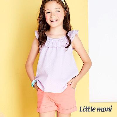 Little moni 輕甜亮彩針織短褲 (4色可選)
