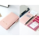 DF Queenin-韓版高質感多卡式護照夾