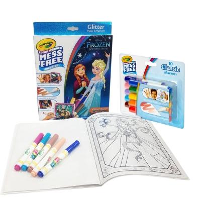 美國Crayola繪兒樂 神彩著色閃亮限定套組(3Y+)