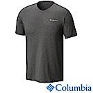 Columbia哥倫比亞 男-防曬50快排短袖上衣-深灰 UAE00680DY