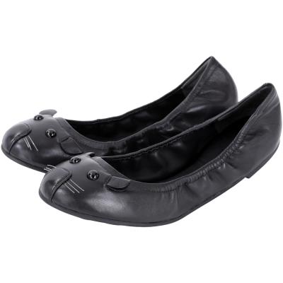 MBMJ Mouse 老鼠造型芭蕾舞鞋(黑色)