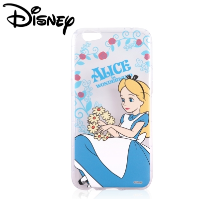 Disney迪士尼OPPO R9s Plus防摔氣墊空壓保護套_賞花系列_愛麗絲