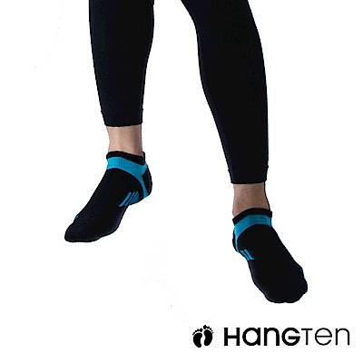 HANG TEN 船型氣墊機能襪3雙入組(男)_藍(HT-A23001)