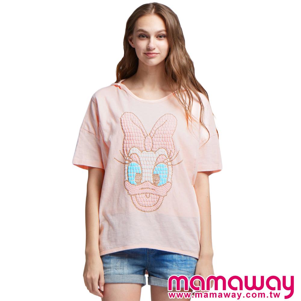 孕婦裝 哺乳衣 迪士尼黛西孕哺罩衫(共二色) Mamaway