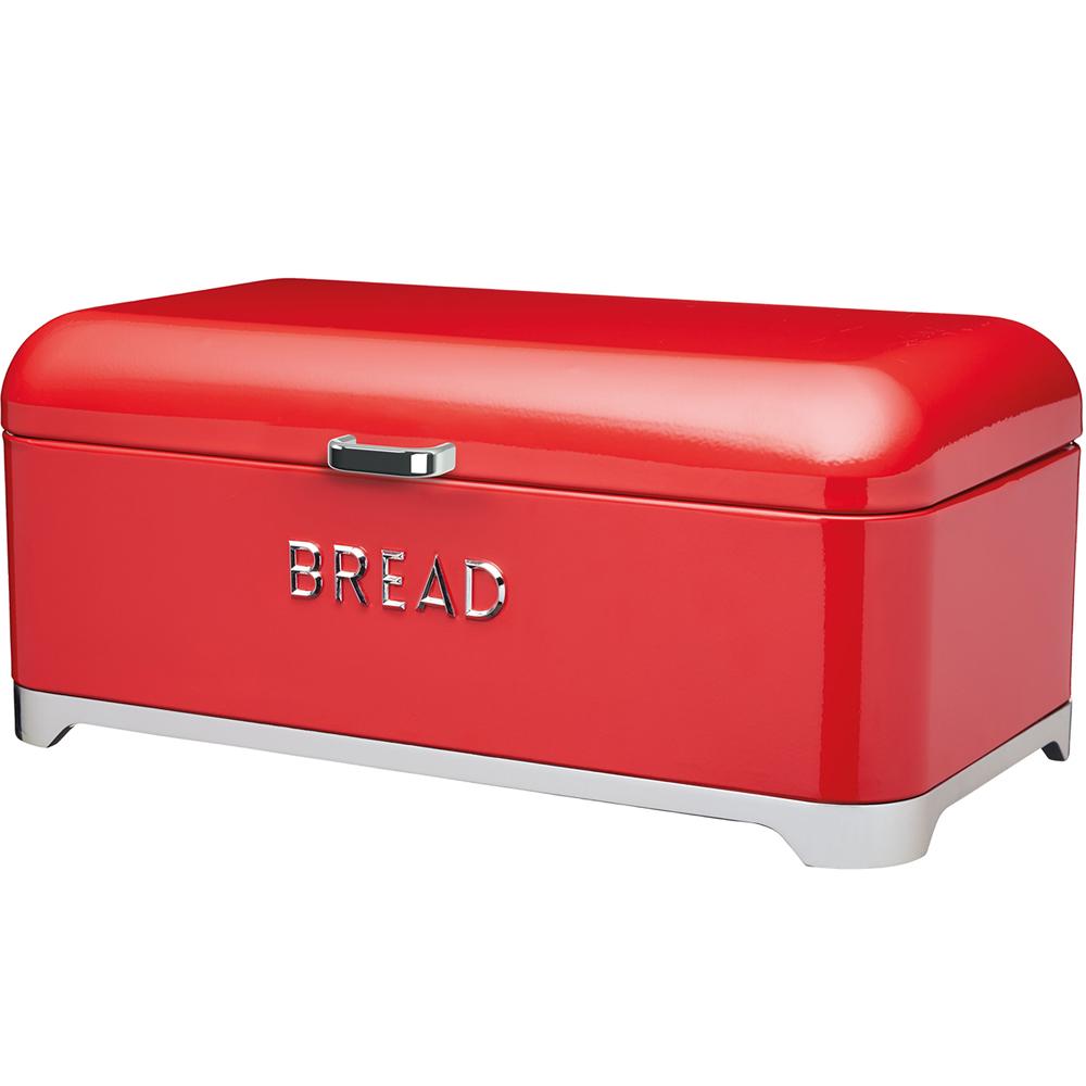 KitchenCraft Lovello麵包收納盒(紅)