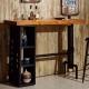 AT HOME - 庫克4.6尺貨櫃造型吧台桌 140x50x106cm product thumbnail 1
