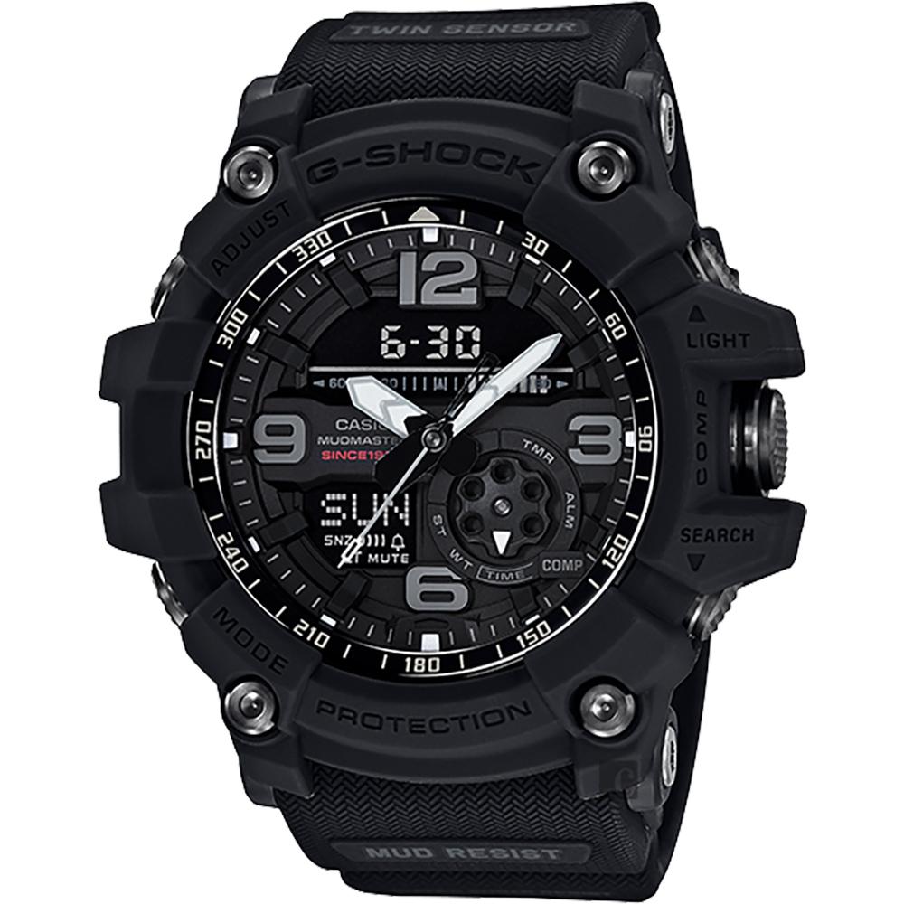 CASIO 卡西歐 G-SHOCK 35周年紀念錶款 宇宙大爆炸極限運動錶/56.2mm