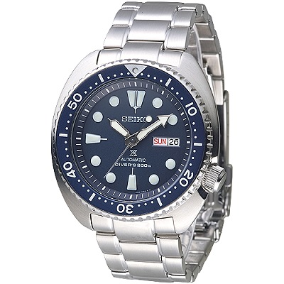 SEIKO PROSPEX復刻鮑魚潛水200M機械錶(SRP773K1)-藍/41mm