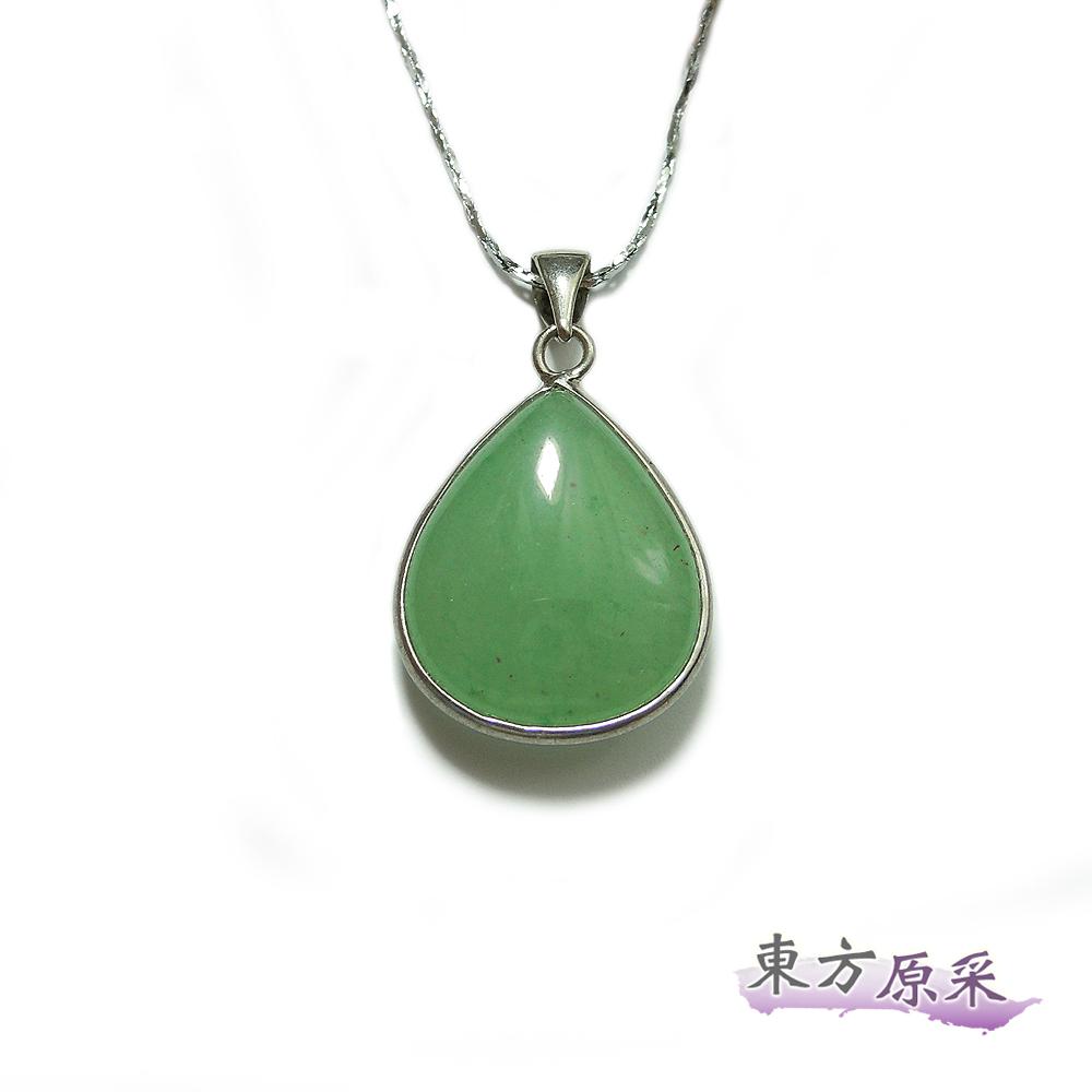 【東方原采】提振元氣綠東陵水滴項鍊
