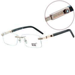 萬寶龍MONTBLANC-時尚光學眼鏡(共3色)MB398