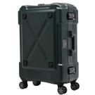 日本 LEGEND WALKER 6302-69-28吋 鋁框密碼鎖輕量行李箱 消光綠