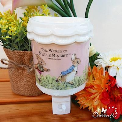 比得兔Peter Rabbit彼得兔半圓精油燈~跑兔