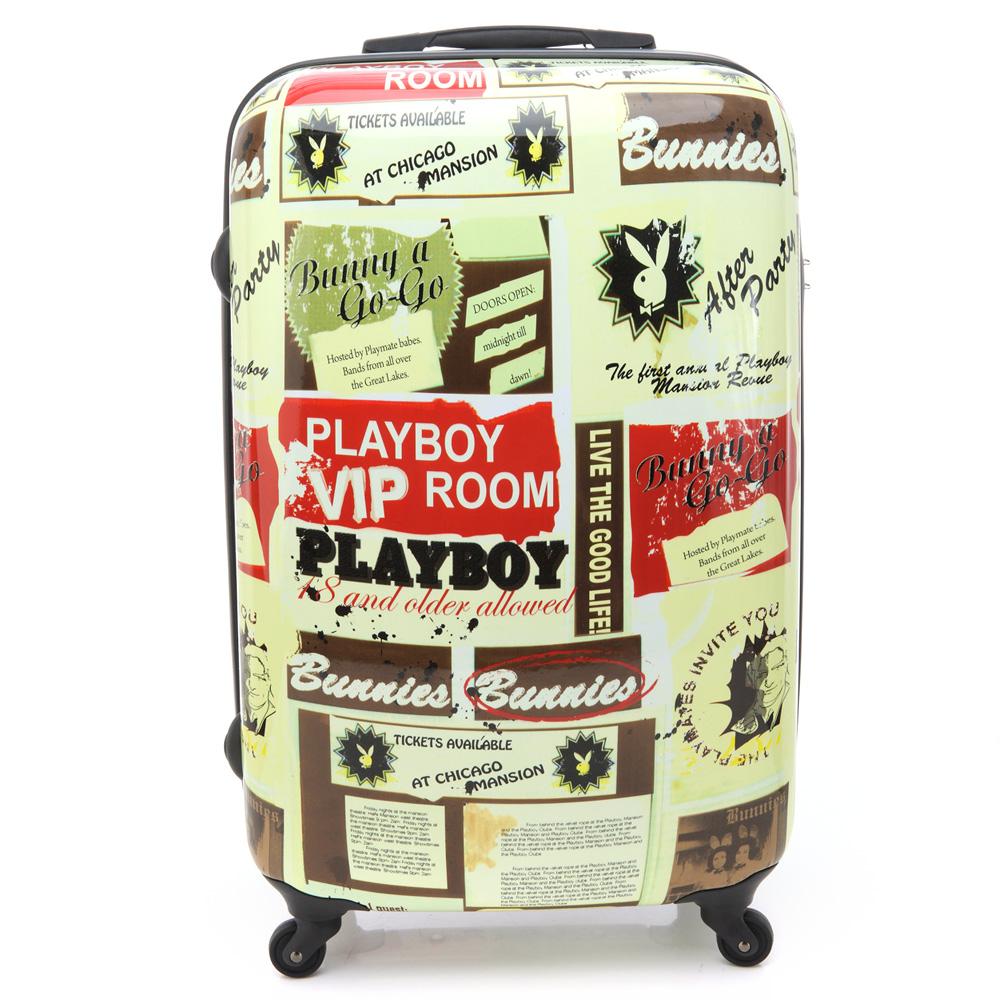 PLAYBOY- Fly away行李箱系列24吋-米色