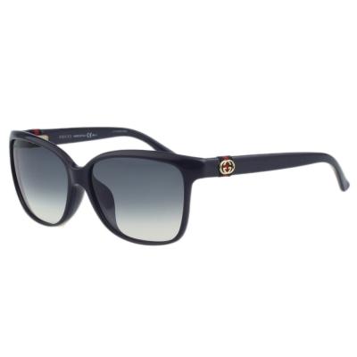 GUCCI 中性款 太陽眼鏡 (深藍色)