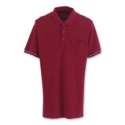 Hang Ten -男裝-基本多彩POLO衫 - 紅