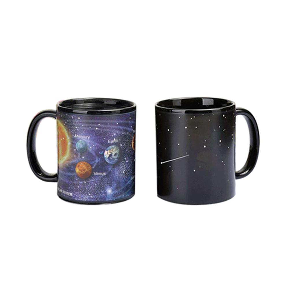 賽先生科學 暗夜星球感溫變色杯
