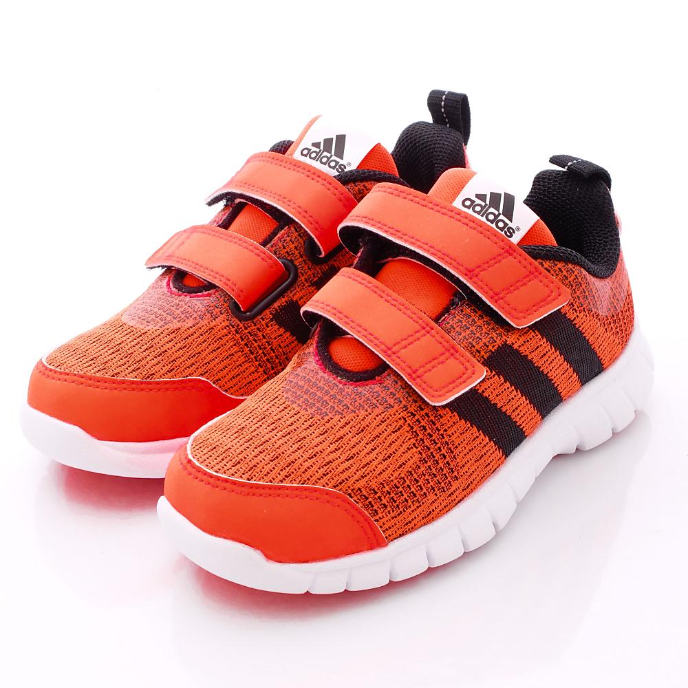 adidas童鞋-輕量針織款-B26408紅(中大童段)-0