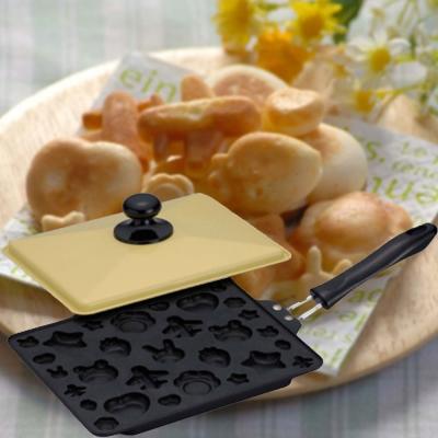 日本綜合造型 雞蛋糕製作鍋-鬆餅鍋