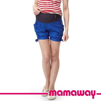 Mamaway-孕期亮彩燈籠短褲-共三色