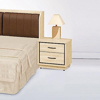 AS-布萊迪原切木床頭櫃-54x40x53cm