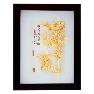 My Gifts-立體金箔畫-節節高升(古香系列22.7x17.6cm)