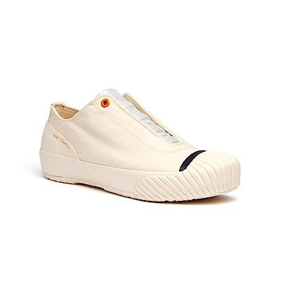 Royal Elastics London米白色英倫風帆布休閒鞋(女)