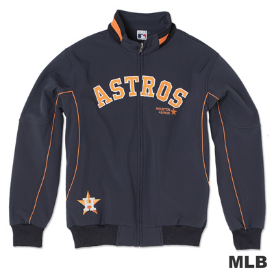 MLB-休士頓太空人隊淺水布棒球外套-深藍(男)