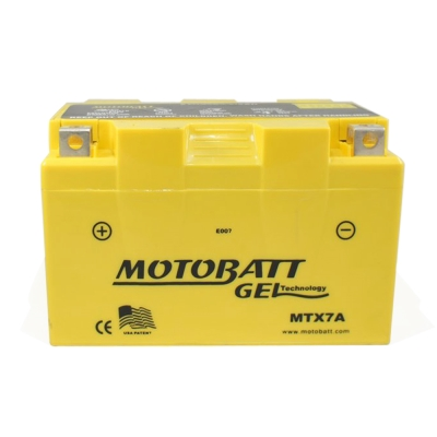 MOTOBATT MTX7A GEL膠體長效機車電池
