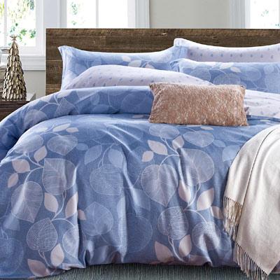 Saint Rose 洛卡 加大吸濕排汗天絲兩用被套床包四件組