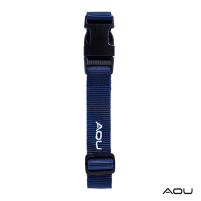 AOU 台灣製造 多用途行李外扣帶旅行省力好幫手 (深藍) 66-028D8
