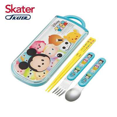 日本Skater三件式餐具組-TSUM TSUM